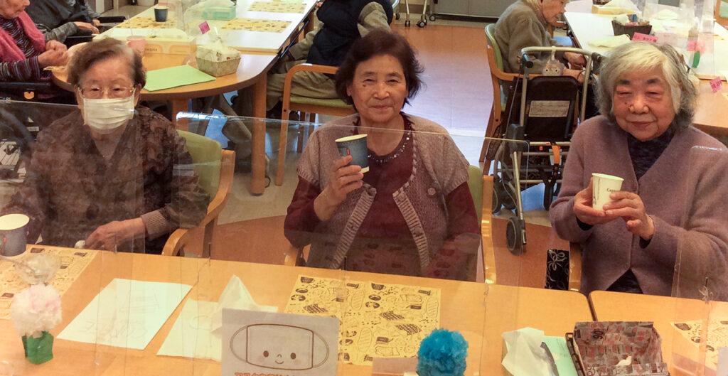 赤とんぼ黒髪 2月の日曜営業 カフェ コーヒー