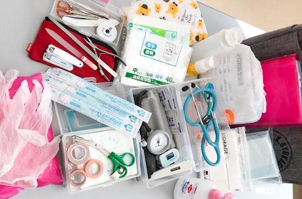 訪問看護ステーション 看護師のカバンの中身 アイキャッチ