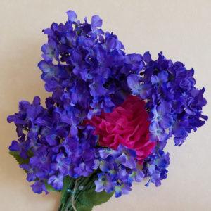 紫陽花の飾り付け1
