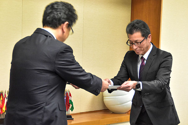 熊本市子育て支援優良企業認定事業所表彰