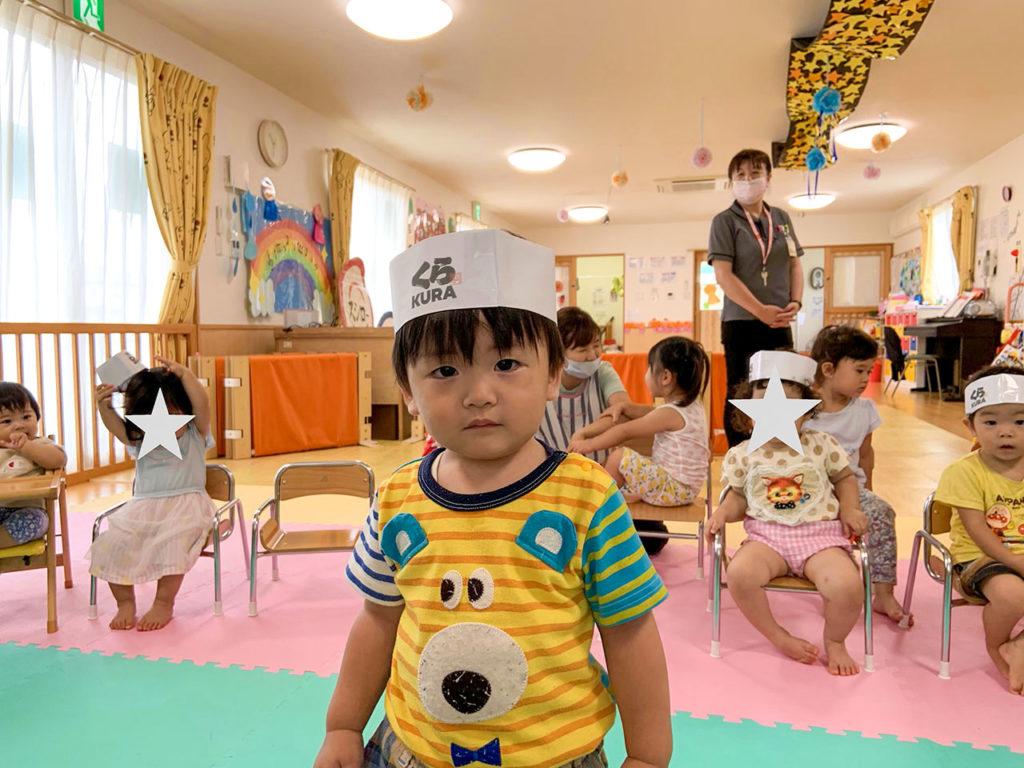 赤とんぼ保育園7月の誕生会3