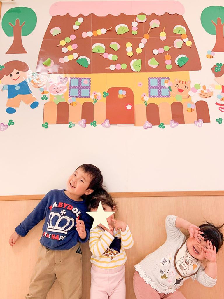 赤とんぼ保育園のお菓子の家