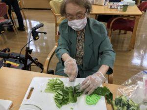小松菜のベーコンソテー3