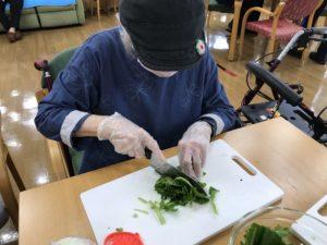 小松菜のベーコンソテー4
