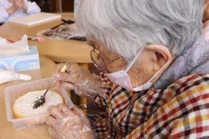 77歳のバースデーケーキ作り2