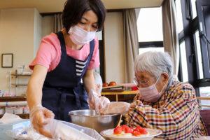 77歳のバースデーケーキ作り5