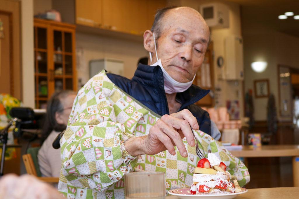 77歳のバースデーケーキ作り6