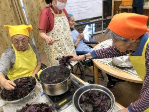 入所科4階6月料理教室 赤紫蘇2