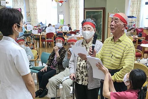 ケアセンター赤とんぼ通所リハビリテーション科運動会
