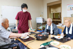 入所科4階 男の料理教室6