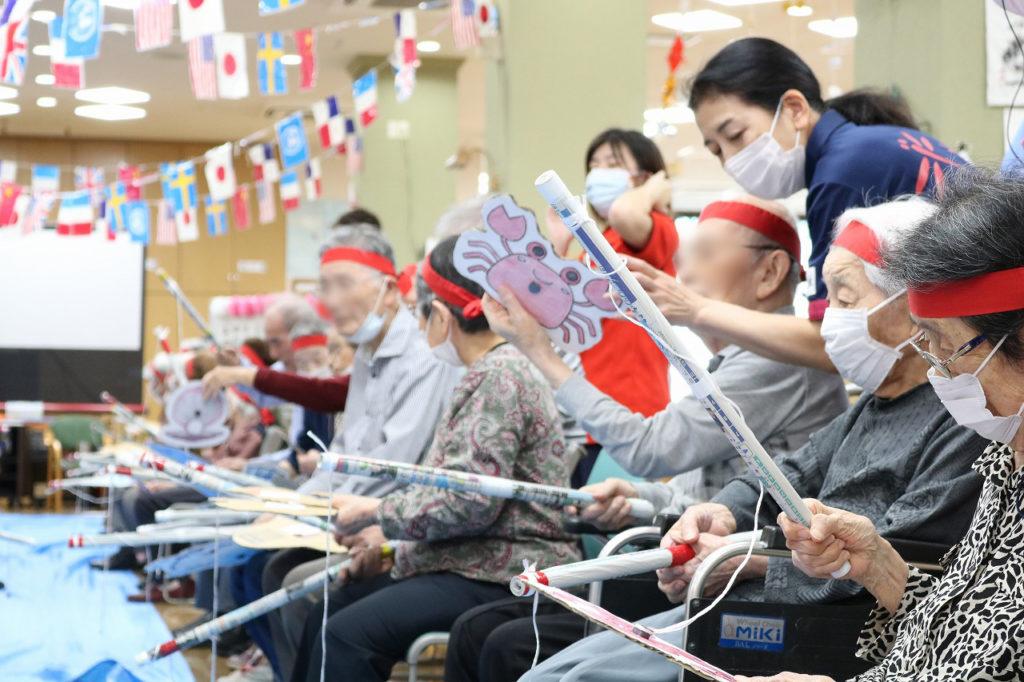 ケアセンター赤とんぼ通所リハビリテーション科運動会12