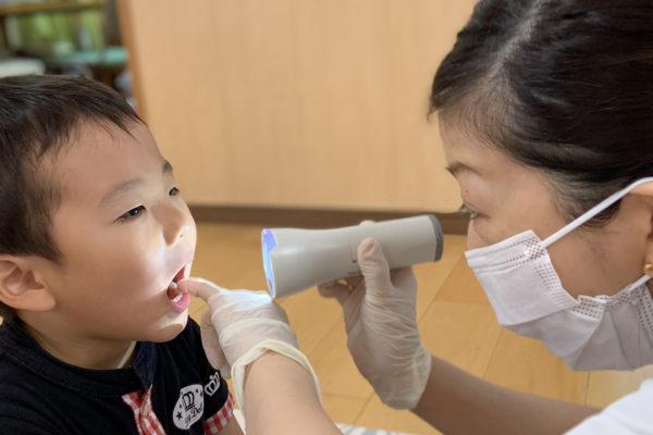 赤とんぼ保育園で歯科健診2