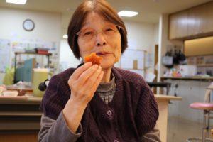 干し柿 試食 2
