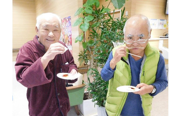 クリニック大津・赤とんぼ大津の合同もちつき大会9