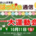 赤とんぼ黒髪 はっぴぃ通信10月号 アイキャッチ
