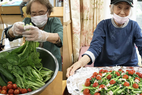 小松菜のベーコン-アイキャッチ